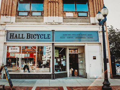 Hall Bicycle