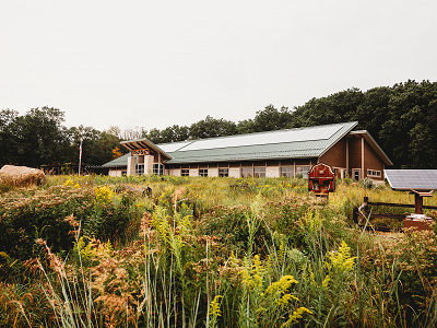 Indian Creek Nature Center is Living Building Challenge Petal Certified