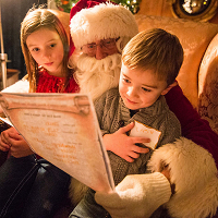 <p>Santa, Snacks, and Stories</p>