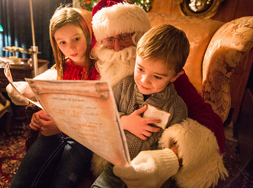 Santa, Snacks, and Stories at Brucemore