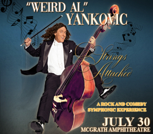 """WEIRD AL"" YANKOVIC THE STRINGS ATTACHED TOUR 2019"