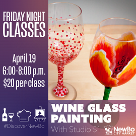 Wine Glass Painting with Studio 51