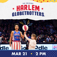 <p>The Harlem Globetrotters are an exhibition basketball team.</p>
