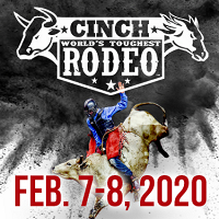 <p>The 2020 Cinch World's Toughest Rodeo tour returns to the U.S. Cellular Center.</p>