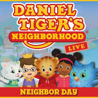 "<p>Rescheduled to 2/23/2021<br /> Do you love Daniel Tiger on PBS? Now you can catch  Daniel Tiger ""Live"" on the Daniel Tiger Tour.</p>"