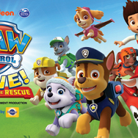 "<p>No job is too big, no pup is too small! Nickelodeon and VStar Entertainment Group present PAW Patrol Live! ""Race to the Rescue,"" an action-packed, music-filled production.</p>"