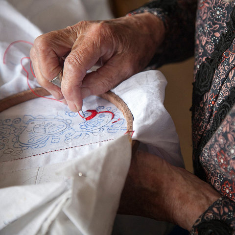 <p>Heritage Caretakers of Moravia will tell the story of the incredible women who wear and use folk art practices in their daily life.</p>