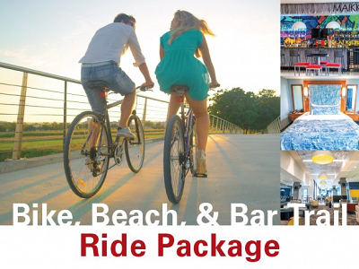 Bike, Beach, & Bar Trail Ride Package