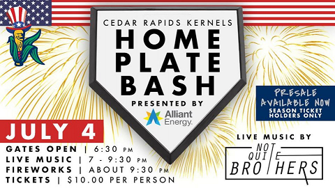 JULY 4 HOME PLATE BASH