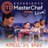 <p>MasterChef Junior Live! is coming to Cedar Rapids! Rescheduled for Thursday, April 29, 2021. Ticket holders should hold onto their tickets and they will be honored for the new date - no further action is needed.</p>